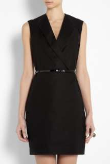 Phillip Lim  Black Sleeveless Dress With Inserted Lapel by 3.1