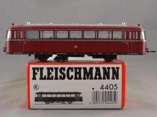 DTD TRAINS   HO SCALE MODEL TRAIN   FLEISCHMANN 4405 TROLLEY PASSENGER