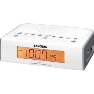 Sony ICF C112 FM/AM Clock Radio with Full Power Back up