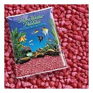 Color Gravel 5lb   Red (10pc) (Catalog Category Aquarium / Gravel