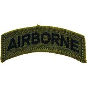 U.S. Army Airborne Patch Green 2 1/2 Patio, Lawn