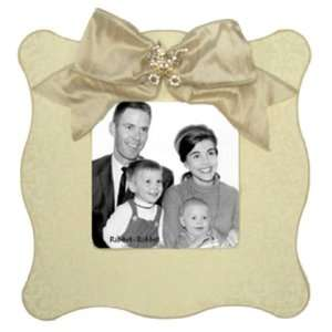 Jubilee Picture Frame in Champagne with Baby Carriage Baby