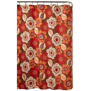 styles Federica Shower Curtain, Ruby:  Home & Kitchen