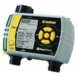 ETD 2 Time It Duo Dual Outlet Manual Water Timer Patio, Lawn & Garden