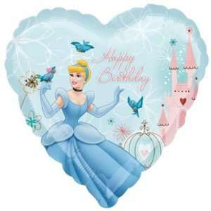 Princess Cinderella Happy Birthday Foil Balloon 18 Toys & Games