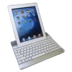Keyboard   Wireless Bluetooth Keyboard Aluminum Case for Apple iPad 2