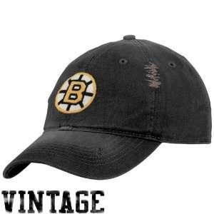 Reebok Boston Bruins Black Heat Flex Fit Vintage Slouch Hat