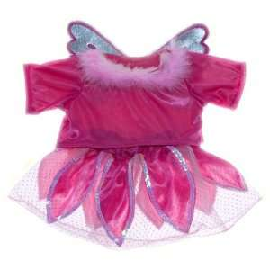 Pink Fairy Dress Teddy Bear Clothes Outfit Fit 14 18 Build a bear
