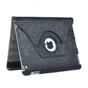 iPad 3 3rd (Compatible with Ipad 2) Magnetic Smart Cover Leather Case