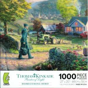 Thomas Kinkade Painters of Light 1000 piece Jigsaw Puzzle