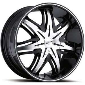 Platinum Cloak 20x8.5 Black Wheel / Rim 5x120 & 5x4.5 with