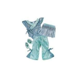 Toy Teal Blue Jazz outfit for American Girl dolls  Toys & Games
