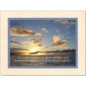 Cuadros con porciones bíblicas: Salmo 19:1: Everything