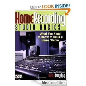 Recording Studio Basics What You Need to Know to Build a Home Studio