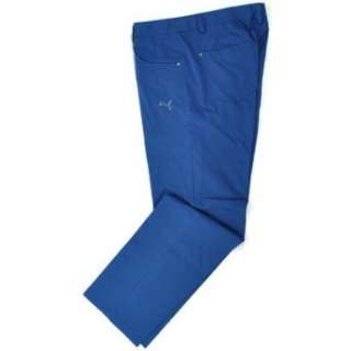 Puma Golf Mens Golf Five Pocket Pants Clothing