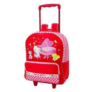 Hello Kitty Rolling Backpack  Piano Toys & Games