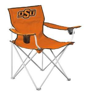 Oklahoma State Deluxe Adult Folding Logo Chair  Sports