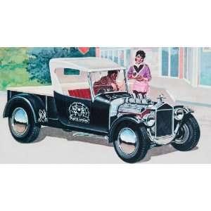 REVELL MONOGRAM   1/24 Ford Model T Black Widow (SSP