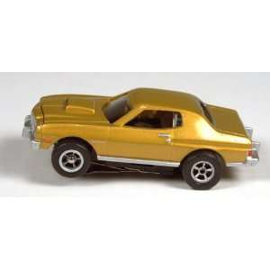 Xtraction R4 Flamethrower 76 Ford Torino (Gold): Toys & Games