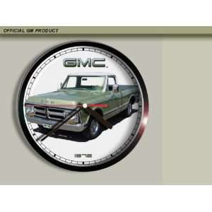 1972 GMC Pickup Truck Wall Clock B006