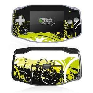 Design Skins for Nintendo Game Boy Advance   Dark Greenery