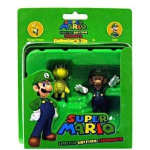 Super Mario Luigi & Koopa Troopa Collectors Tin Figure Toys & Games