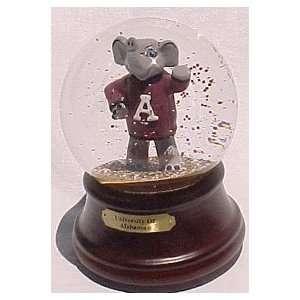 Alabama Crimson Tide La Mascot Musical Snow Globe