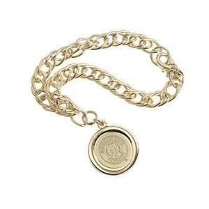 Mississippi State   Charm Bracelet   Gold