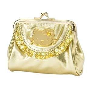 [Hello Kitty] caps Perth Gold Star Gold Happy happy hunch
