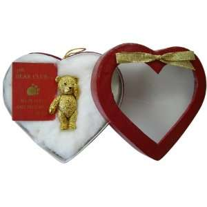 Pin   Classic Gold Plated Teddy Bear Lapel Pin Necklace Toys & Games