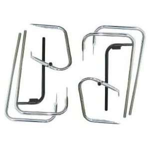 Saddlebag Guards & Rails for 97 08 Harley Davidson Touring Automotive