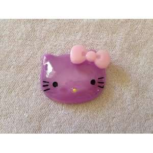 Purple Kitty Cat Flat Back Resin Cabochons Arts, Crafts & Sewing