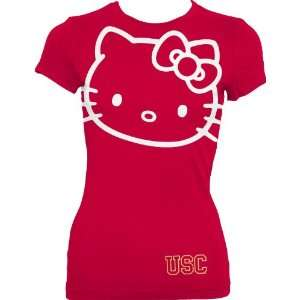 Trojans Hello Kitty Inverse Junior Crew Tee Shirt