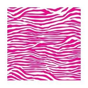 Sided Cardstock 12X12   Hot Pink & White Zebra Arts, Crafts & Sewing