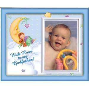 With Love to my Godfather (Boy) Picture Frame Gift:  Home