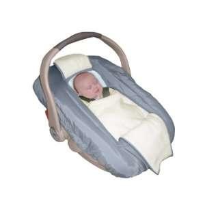 Jolly Jumper Arctic Sneak A Peek Infant Car Seat Cover Black Baby