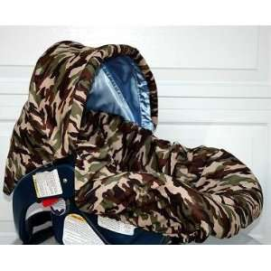Baby Bella Maya Infant Car Seat Cover in Dady Camo with