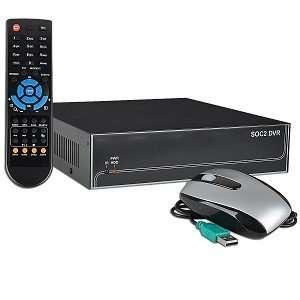 4 Channel Standalone Network DVR Surveillance System w/USB