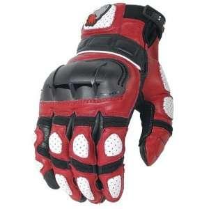 Joe Rocket Md Red/White/Black Super Moto Glove