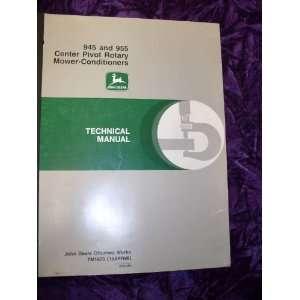 John Deere 945/955 Mower Conditioner OEM Service Manual John Deere