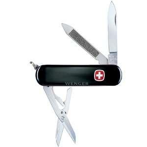 GENUINE SWISS ARMY KNIFE Esquire black Genuine Swiss Army Knife Ring