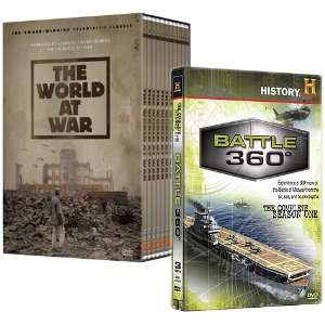 The World at War & Battle 360 DVD Collection Video Games