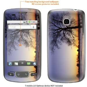 STICKER for T Mobile LG Optimus case cover Optimus 206 Electronics