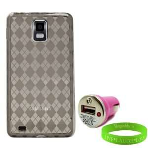 Infuse Car Charger + Live * Laugh * Love VG Wrist Band Electronics