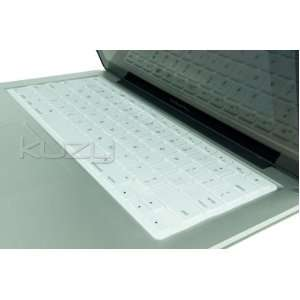 Kuzy   Solid WHITE Keyboard Silicone Cover Skin for Macbook / Macbook