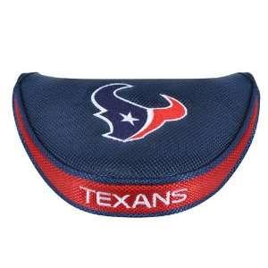 Houston Texans NFL Mallet Putter Cover