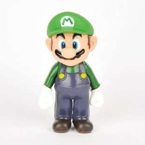 Super Mario Bros. Luigi Plastic Figure Character  Toys & Games