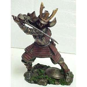 Bushido Samurai Warrior Statue Figurine Martial Arts Home & Kitchen