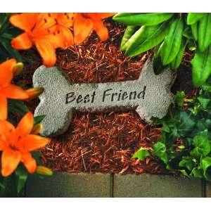 KayBerry Garden Accent Pet Memorial Stone Dog Bone Best