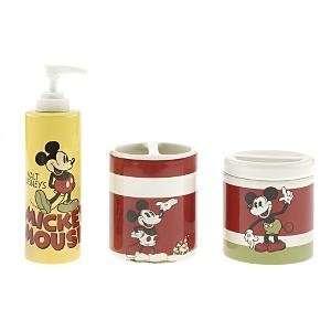 Disney Mickey Mouse Bath Set Shower Soap Lotion 3pc